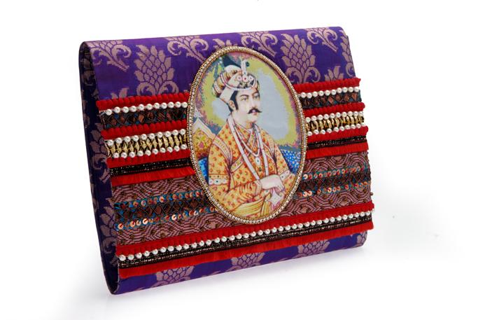 Ornate Clutch Bag