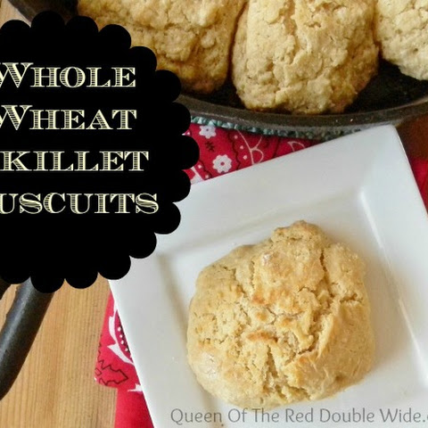 Whole Wheat Cast Iron Skillet Biscuits