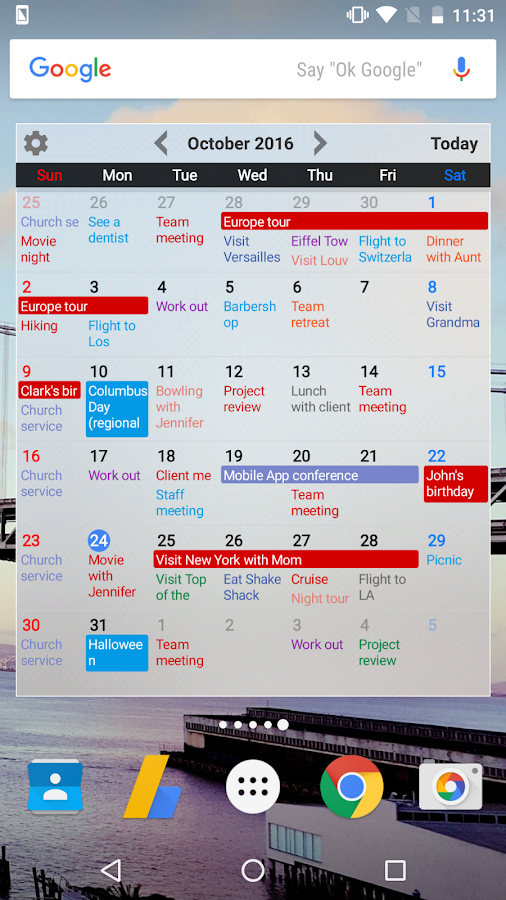 Calendar+ Schedule Planner Screenshot 1