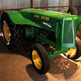 Early John Deer by Peter Keast - Transportation Other ( work, transportation, tractor, farming )