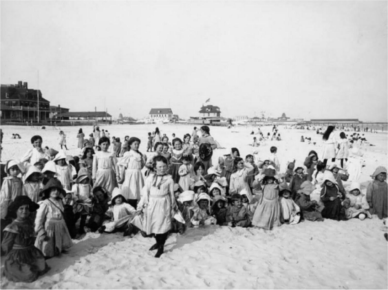 Vintage beach images
