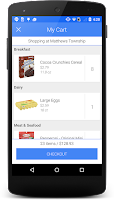 Screenshot of Harris Teeter