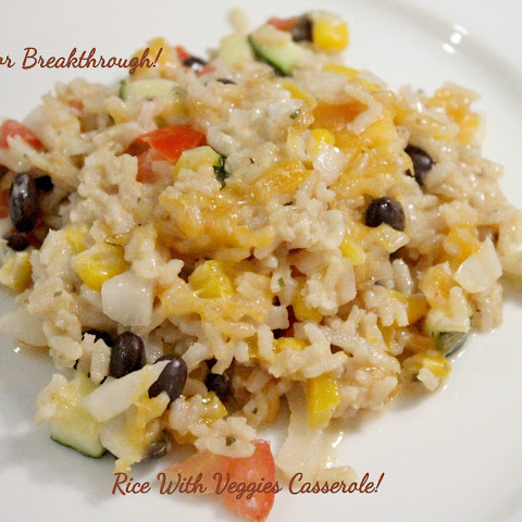 Rice with Veggies Casserole!