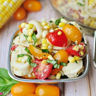 Tortellini Pasta Salad Cherry Tomatoes Recipes