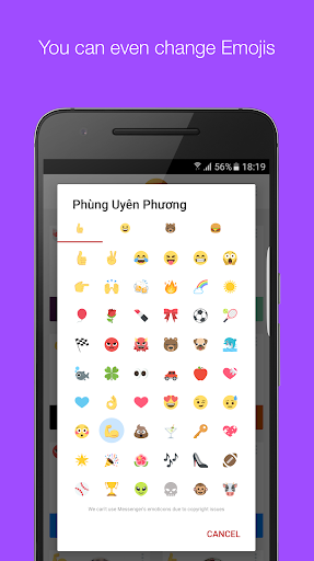 Mauf - Messenger Color & Emoji screenshot 4