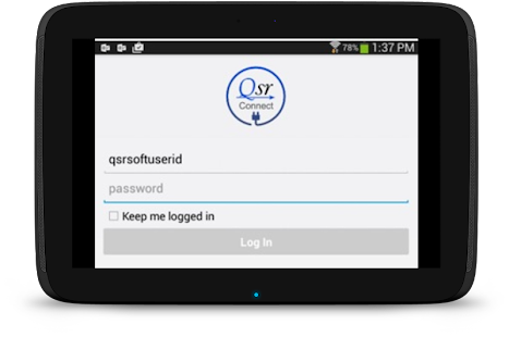 QsrConnect - screenshot