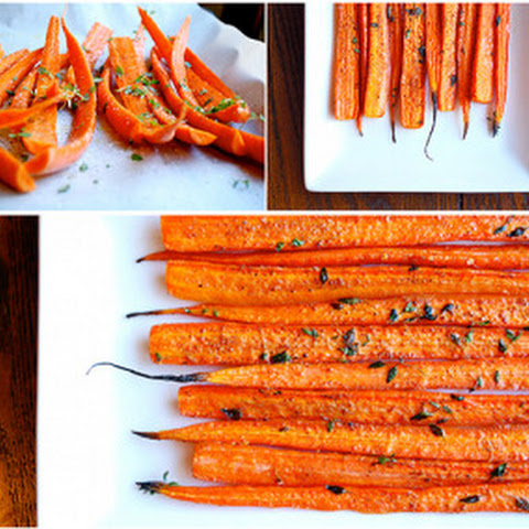 Thyme-Roasted Carrots