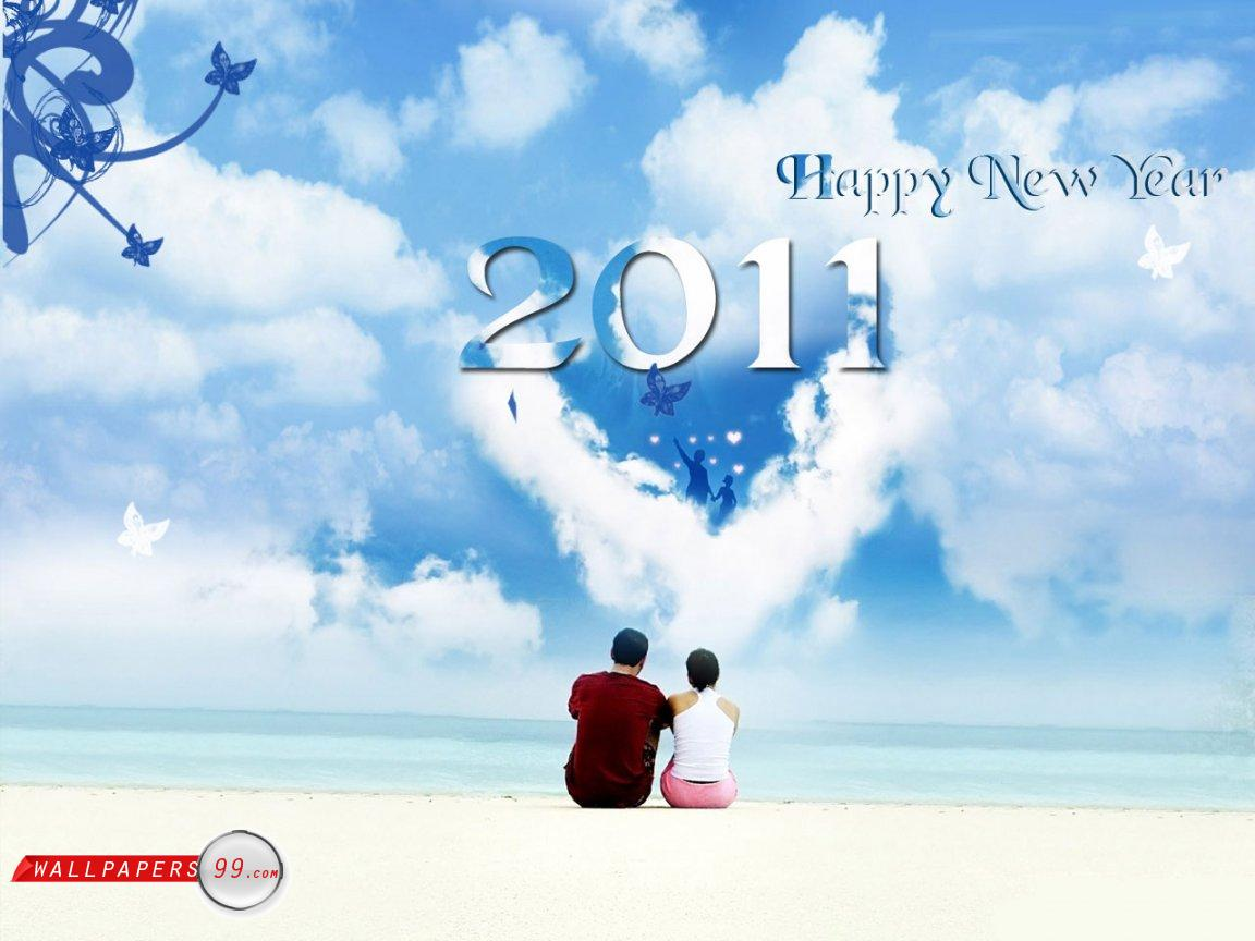 2011 New Year Wallpapers Pack