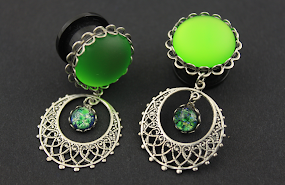 HANDMADE DANGLE PLUGS