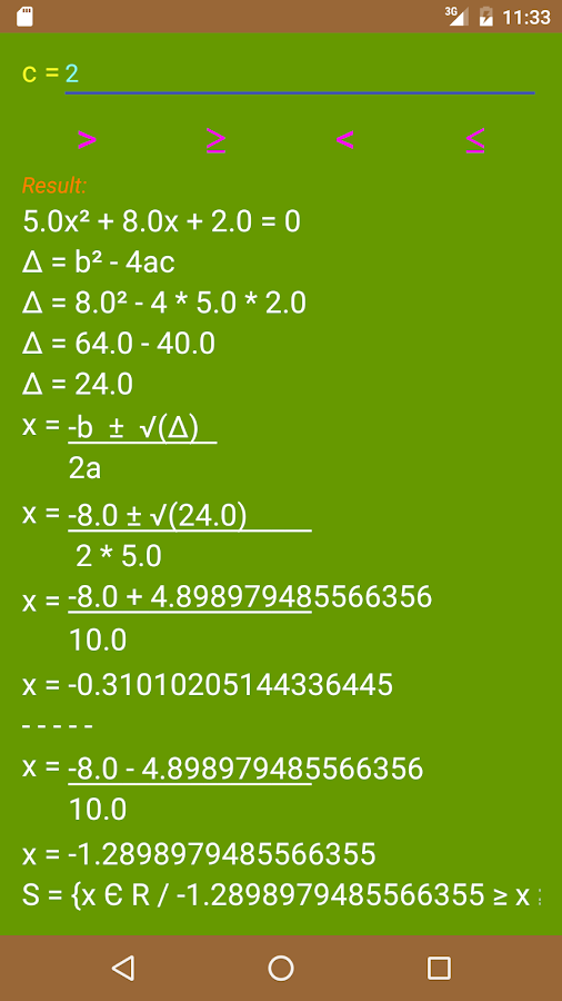 Calculator Board Screenshot 3