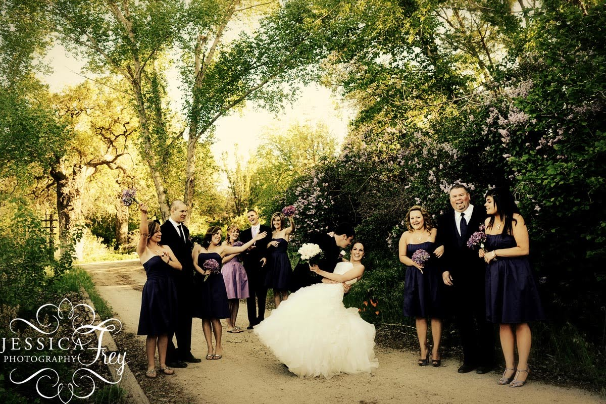 Tehachapi Garden Wedding