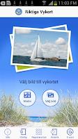 Screenshot of Riktiga Vykort