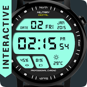 Cover art Watch Face Military Digital