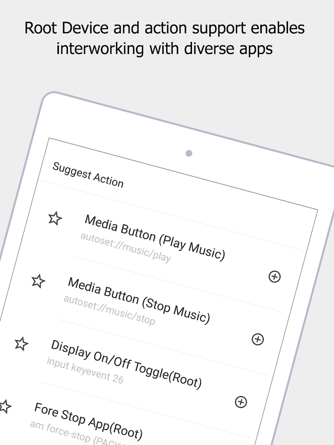 AUTOSET (Android Automation Device Settings) Screenshot 12