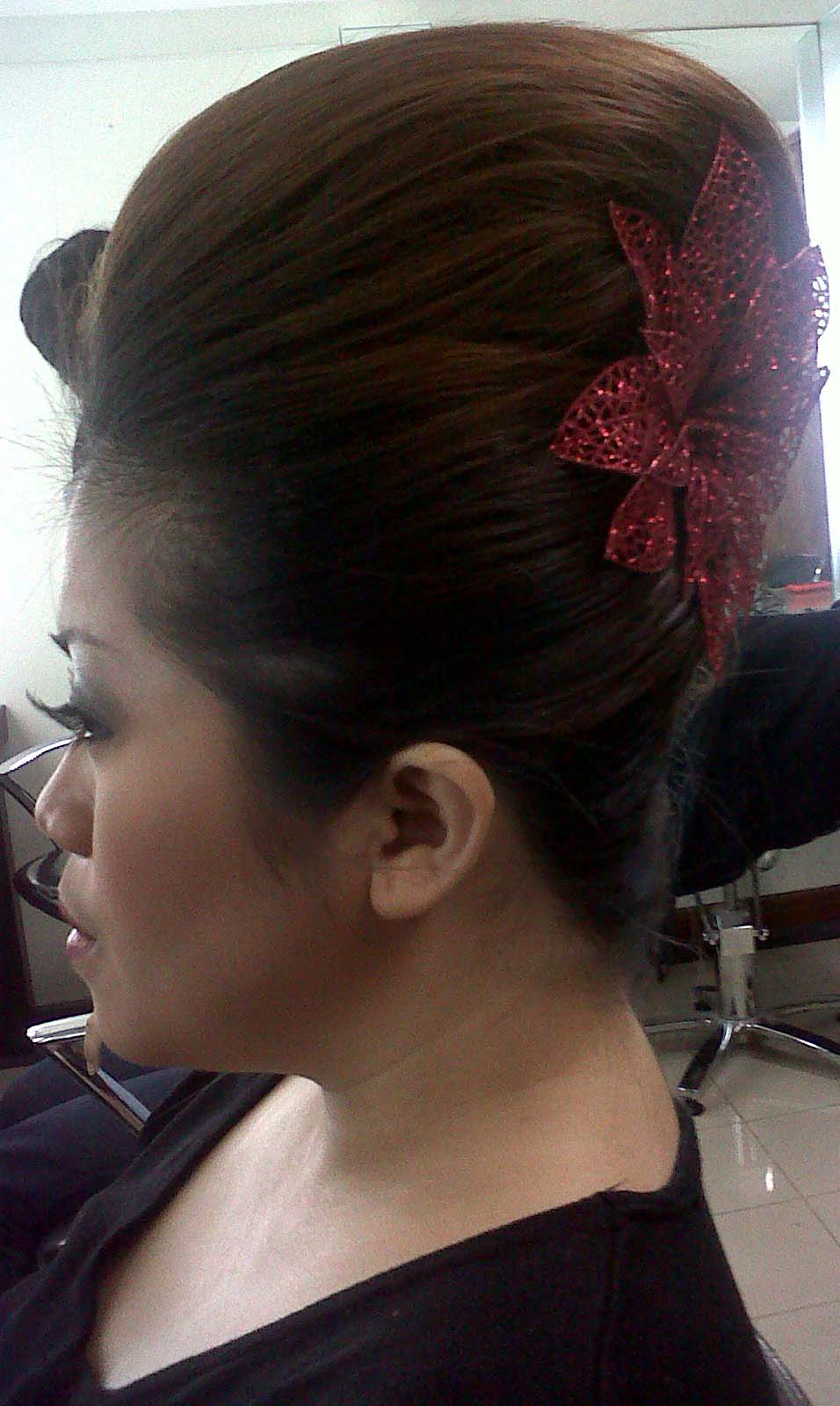 your wedding hair style to