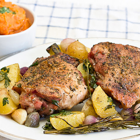 Herb Roasted Turkey Thighs