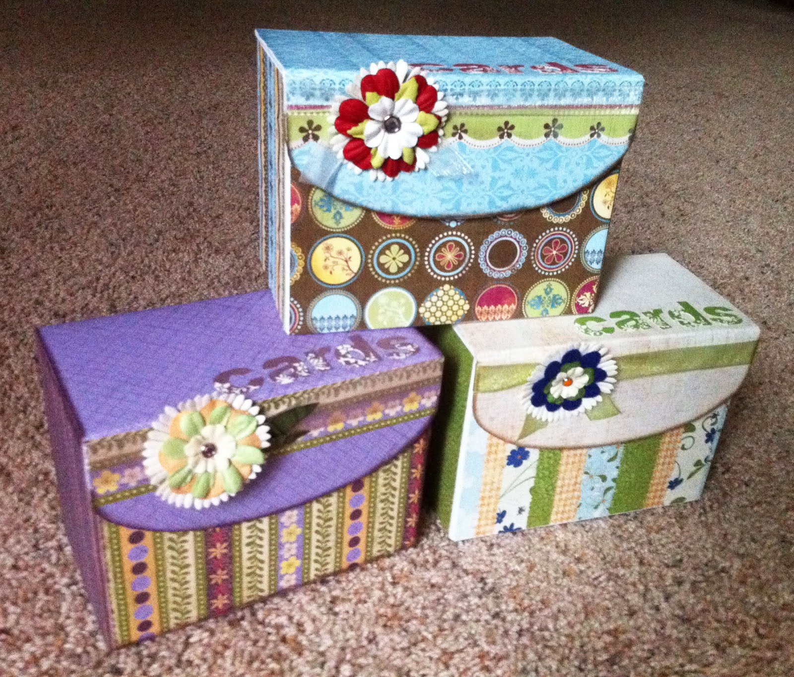 card boxes for weddings
