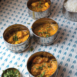 Sembharachi Kodi (Goanese Shrimp Curry)