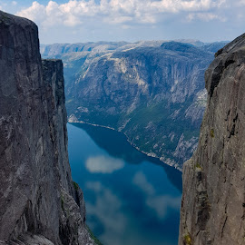Lysefjorden, Norway by Anngunn Dårflot - Landscapes Mountains & Hills