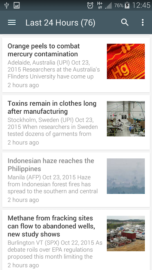 Science News Online Screenshot 6
