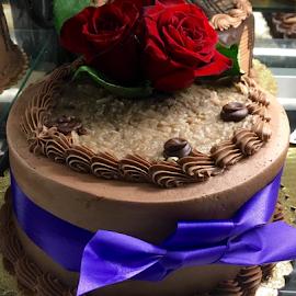 Rose Cake by Lope Piamonte Jr - Food & Drink Cooking & Baking
