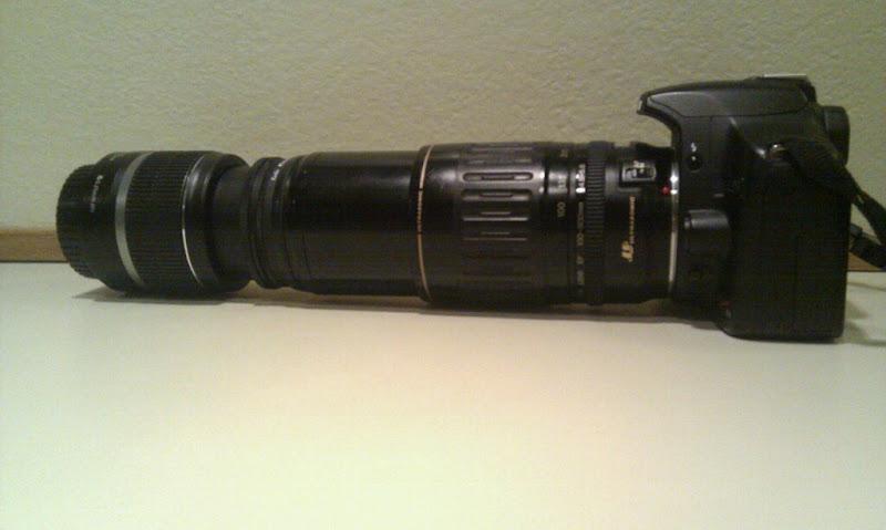 Макросъёмка Canon 500D паровоз телевик 100-300 и 18-55 наоборот.