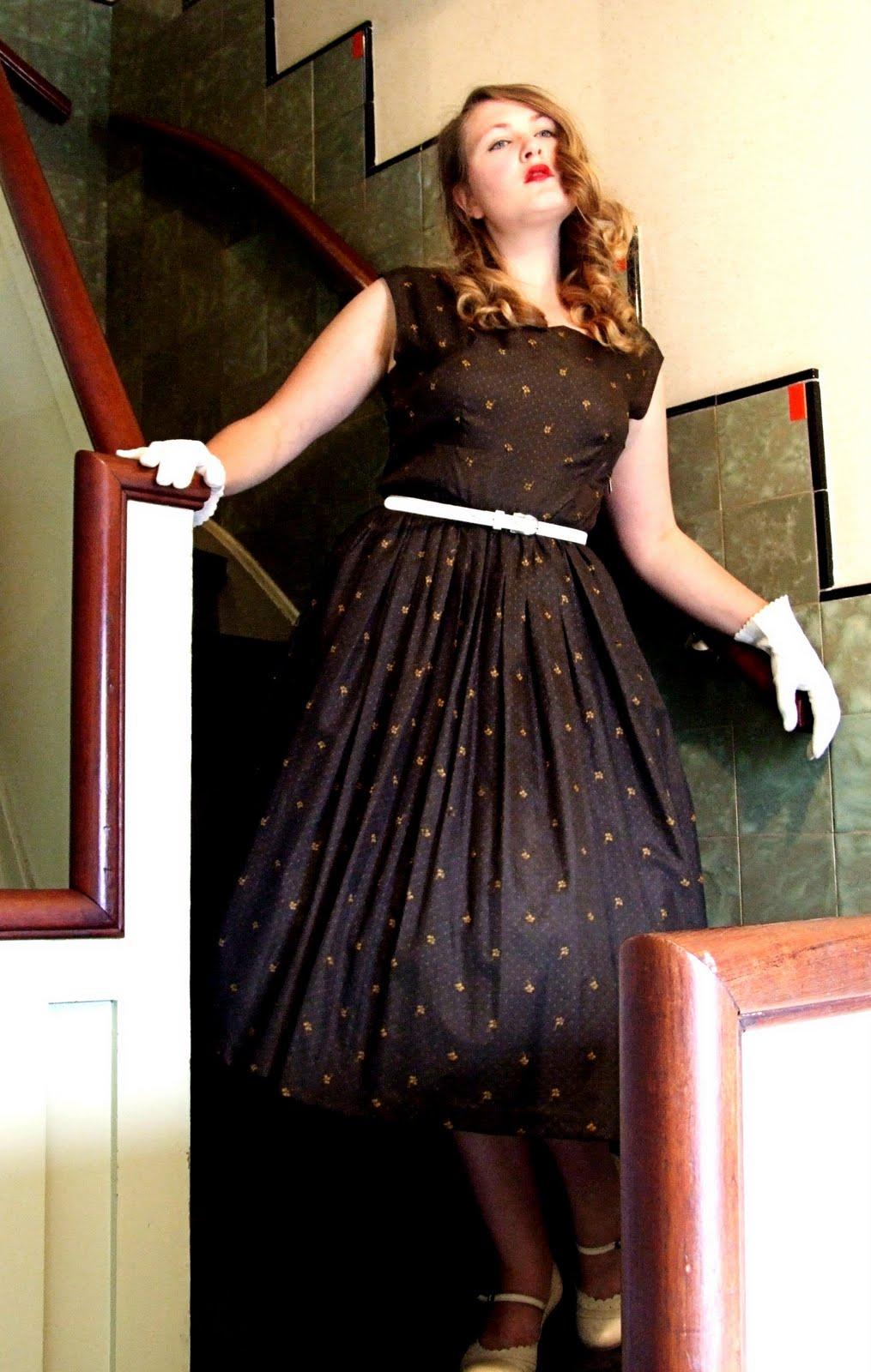 50 s style dress