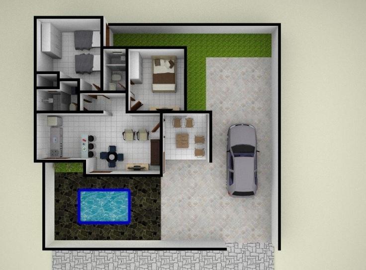 Casa à venda, 55 m² por R$ 125.000,00 - Carapibus - Conde/PB