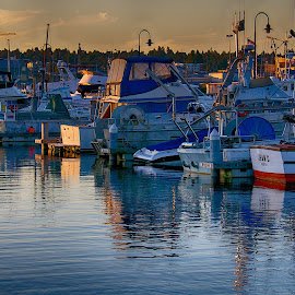 by Pam Cook - Transportation Boats