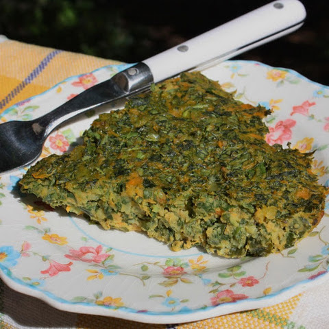 Kale Sweet Potato Pie- Gluten Free