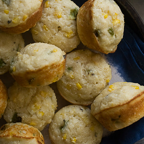 Hatch Chile Corn Muffins
