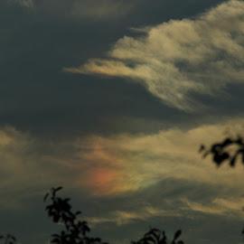 Fire Rainbow by Carl VanderWouden - Landscapes Cloud Formations