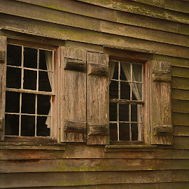 Cajun Cypress Window by Ron Olivier - Buildings & Architecture Other Exteriors ( cajun cypress window )