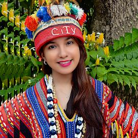 Baguio Girl by Braggart Reigh - People Portraits of Women ( costume, festival, people, women, portrait )
