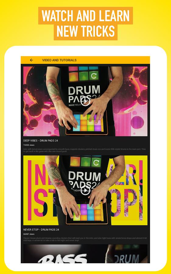 Drum Pads 04 - Beats and Music – Screenshot