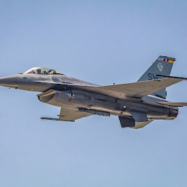 F-16 Viper by Shutter Bay Photography - Transportation Airplanes ( air show, blue angels, mississippi, biloxi, airplanes )