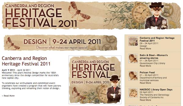 Heritage festival screenshot