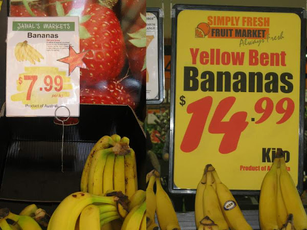 banana prices