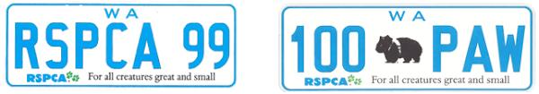 RSPCA plates