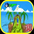 Super Sonic Subway run bros 3D