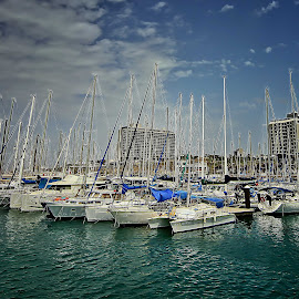 telaviv by Joel Adolfo    - Transportation Boats ( boats, transportation )
