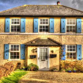The Farmhouse by Steve Rowe - Digital Art Places