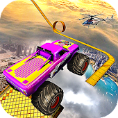 APK Game Crazy Monster Truck Legends 3D for BB, BlackBerry