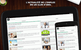 Screenshot of Keljob : Emploi, Job et Stage