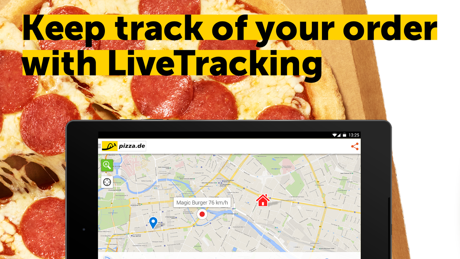pizza.de - order food online Screenshot 13