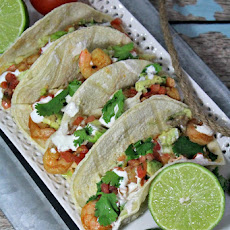 Southwestern Shrimp Soft Tacos Recipe | Yummly