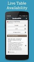 Screenshot of Bookatable Restaurant Bookings