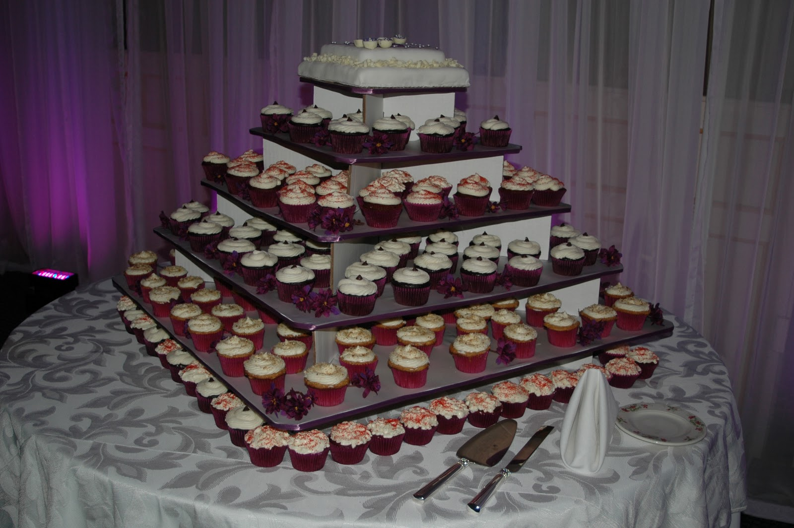 Cupcake Wedding Cake for
