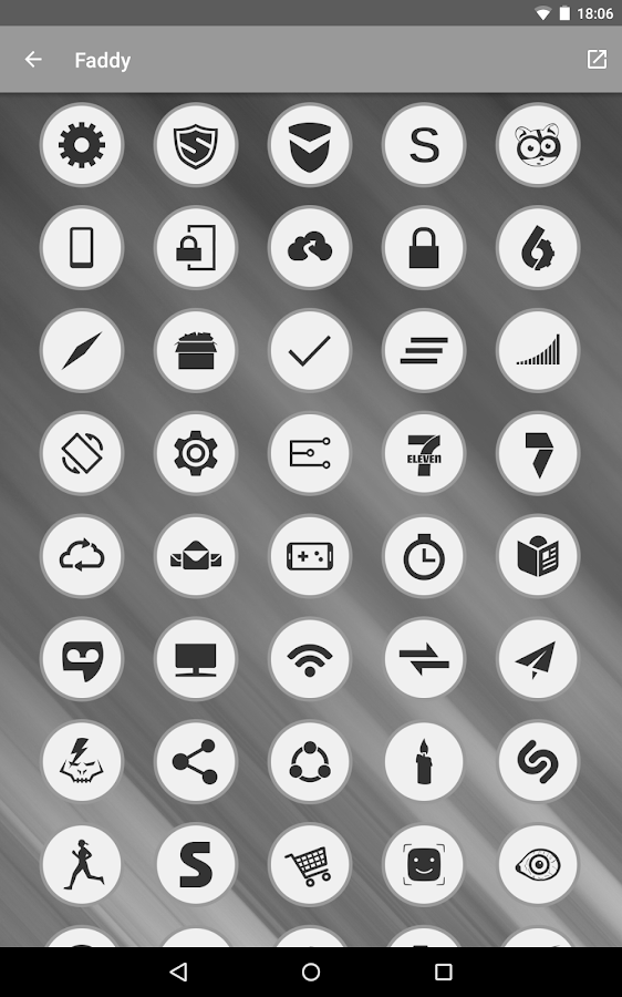 Faddy - Icon Pack Screenshot 12