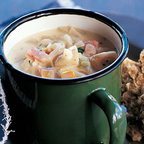 Potato, Corn And Bacon Soup